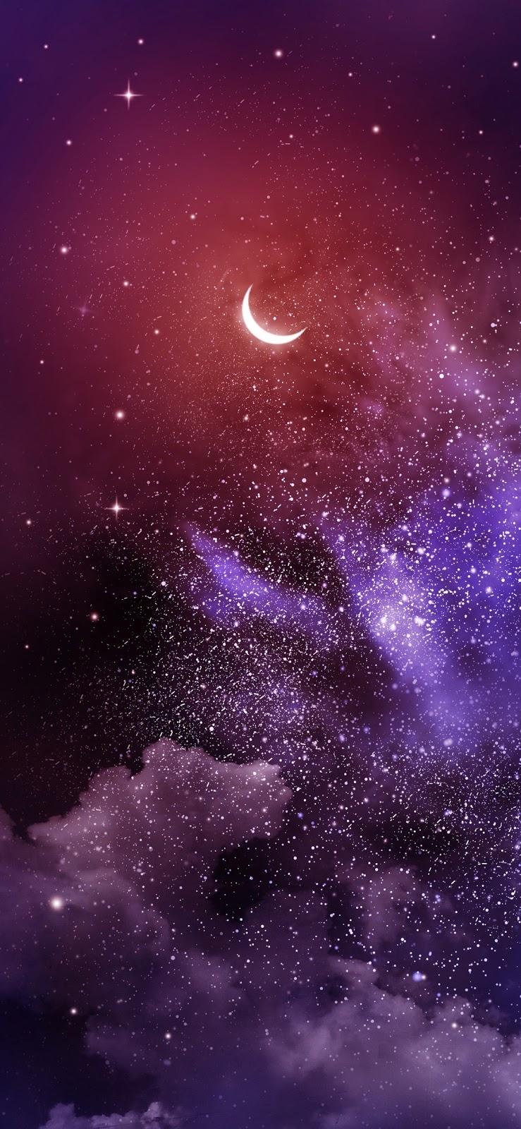 In the night (iPhone X)
