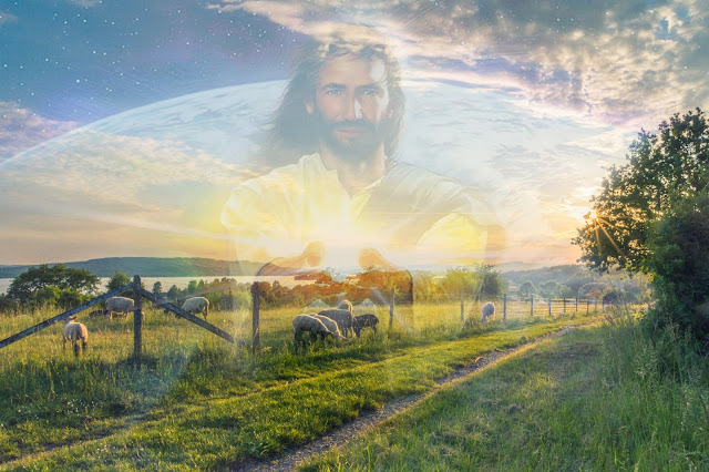 Jesus Christ Open Arms