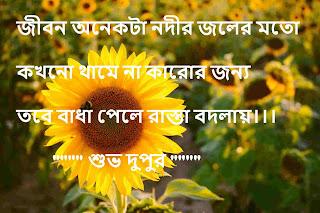 bangla good afternoon sms