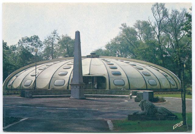 Architectures de cartes postales 2 for Piscine tournesol sens