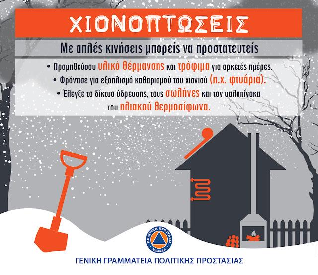Οδηγίες και για τους κατοίκους της Αργολίδας από τη Γενική Γραμματεία Πολιτικής Προστασίας (βίντεο)