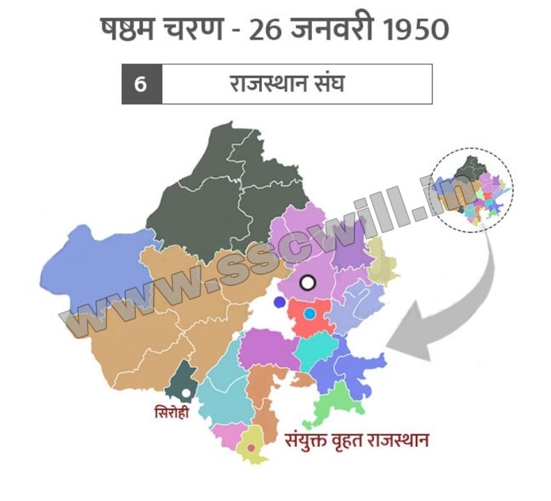 Rajasthan Ka Ekikaran GK in Hindi