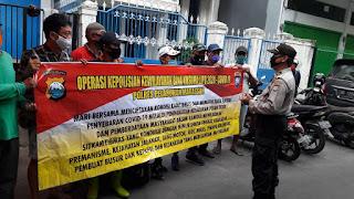 Ops Bina Kusama 2020, Polres Pelabuhan Makassar Lakukan Binluh di Pasar Bacan