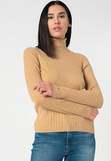 Tommy Hilfiger - Мъжки Пуловер с плетка осморка