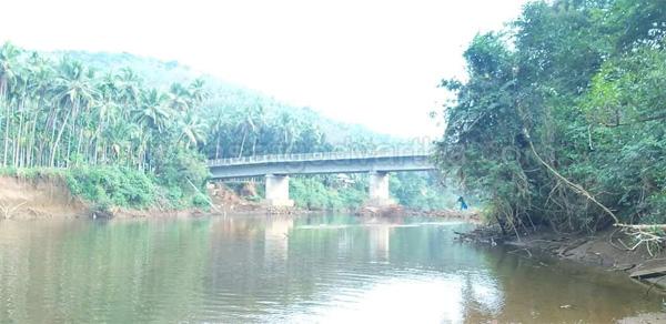 Nileshwaram, News, Kerala, Kasaragod, Bridge, Inauguration, Perumbatta bridge construction completed
