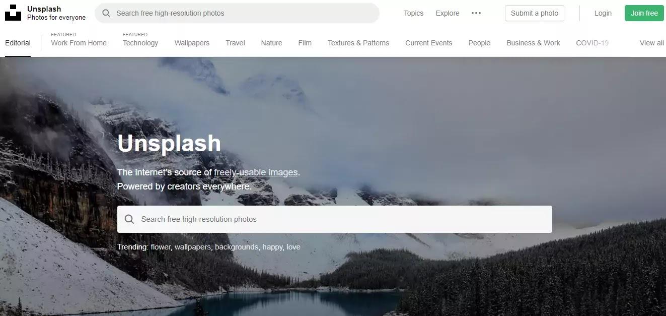 best blogging tools unsplash