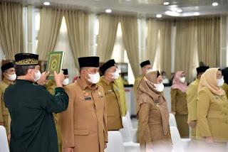 Gubernur Edy Rahmayadi Lantik 27 Pejabat Administrator