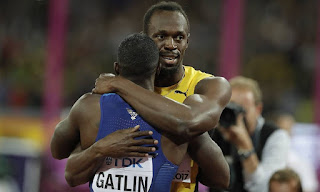 Usain Bolt Defeated For The First Time In A Decade By Justin Gatlin