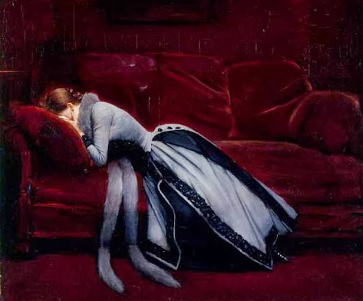 Autor: Jean Beraud. Título de Obra: After the misdeed.( después del error)