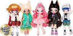 Новые мягкие куклы Na Na Na Surprise Teens: 28-см подростки с конфетти