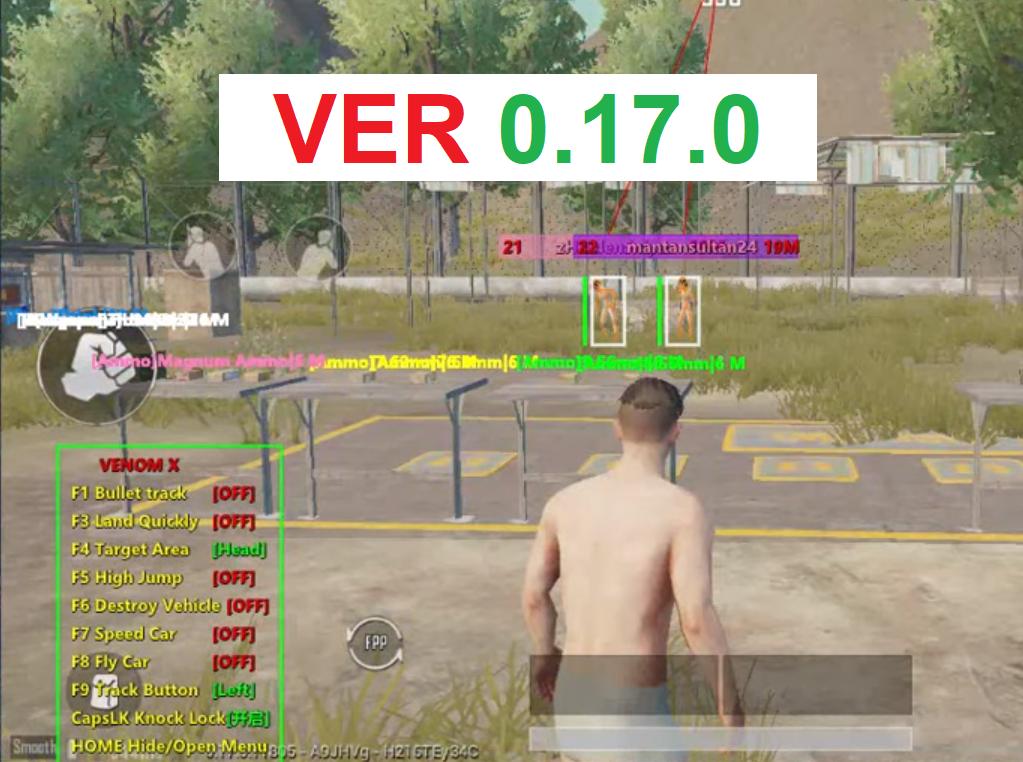 [VENOM X] VIP have removed the virus | Pubg Mobile 0.17