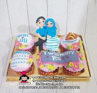 Cupcake Romantis Couple Isi 6