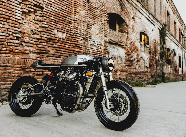Honda CX500 By Lucky Custom Hell Kustom