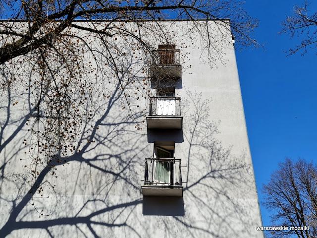 Warszawa Warsaw Saska Kępa blok bloki architektura architecture