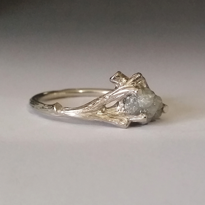 Dawn Vertrees Raw Uncut Rough Engagement Wedding Rings New Twig