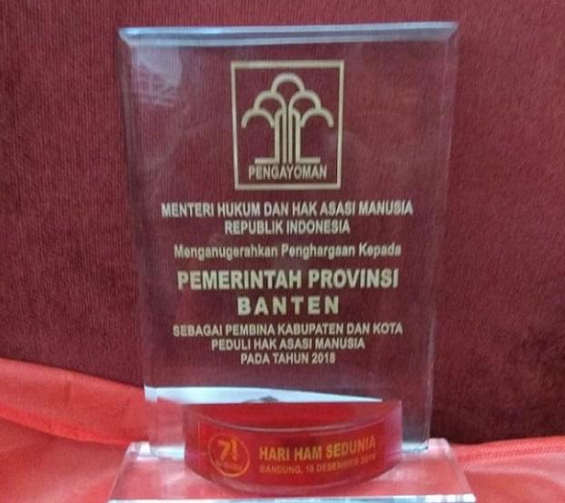 Gubernur WH Ucapkan Terima Kasih Atas Penghargaan Pembina Peduli HAM