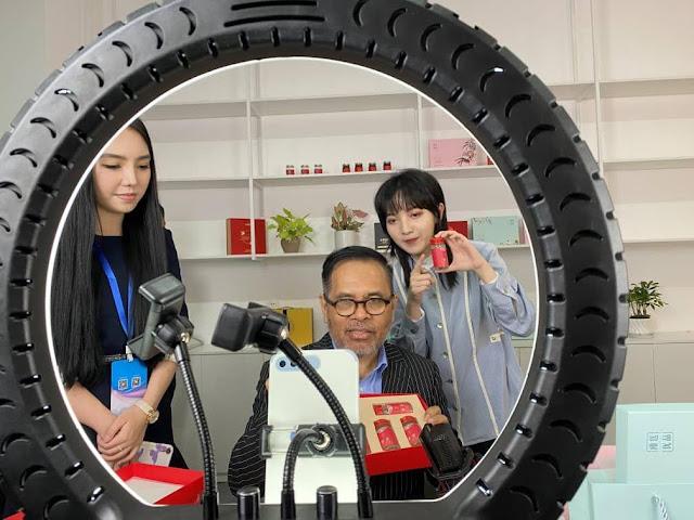 Djauhari Oratmangun Ungkap Potensi Indonesia pada Konferensi Sarang Burung Walet China di Xiamen