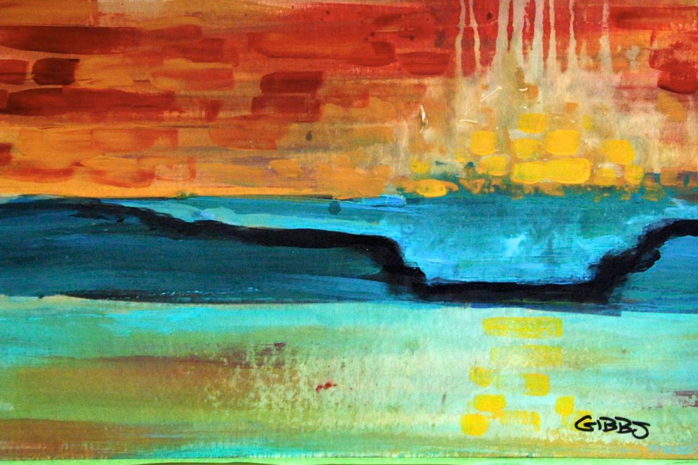 Las olas de Nathan Paul Gibbs