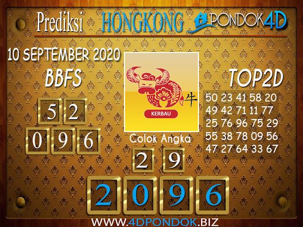 Prediksi Togel HONGKONG PONDOK4D 09 SEPTEMBER 2020