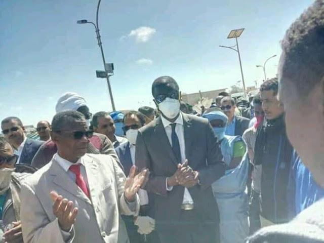 نواذيبو : حملة المنطقة الحرة على كورونا ' جهل بوسائل السلامة و ضحك على الذقون '.. - صور