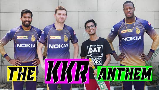 KKR Anthem Song by The Bong Guy
