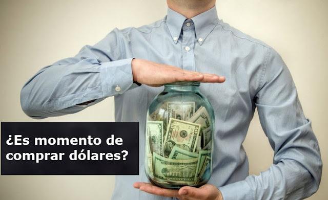Es momento de comprar dólares