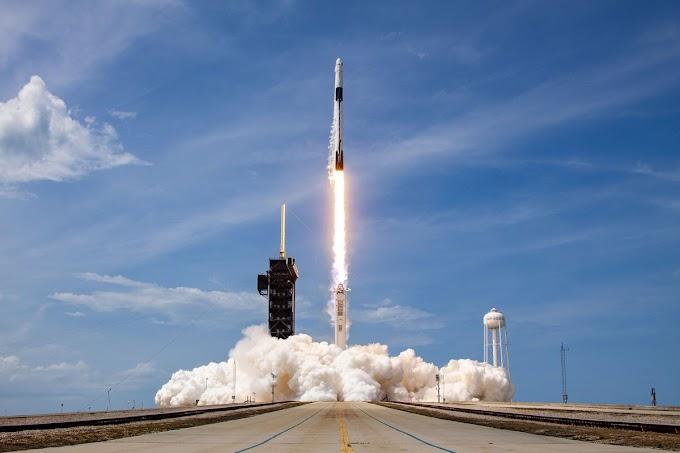 Spacex Falcon 9 Uzay Yolculuğu