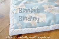 easy blanket binding
