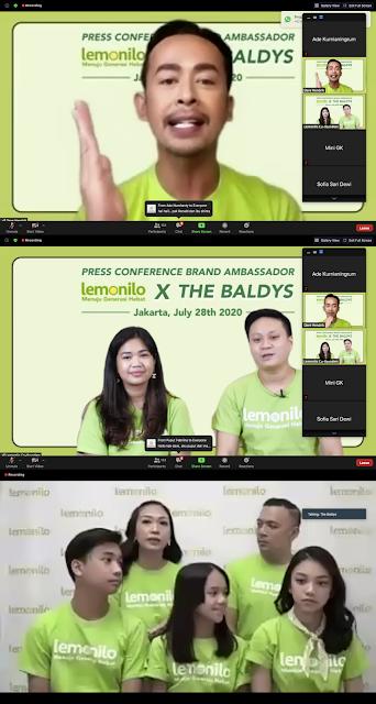 Brand Ambassador Mie Instan Lemonilo