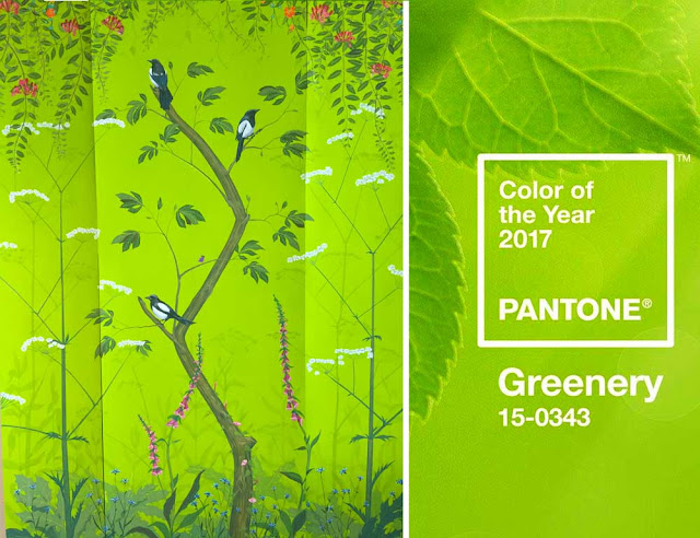Snijder Co Pantone Greenery Color Of The Year 2017