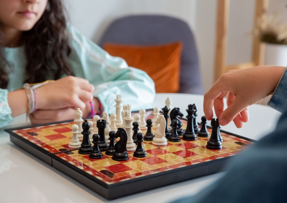 Games You Can Play on Your Break, Chess