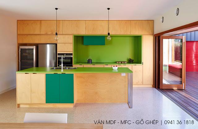 không gian bếp hoàn mỹ