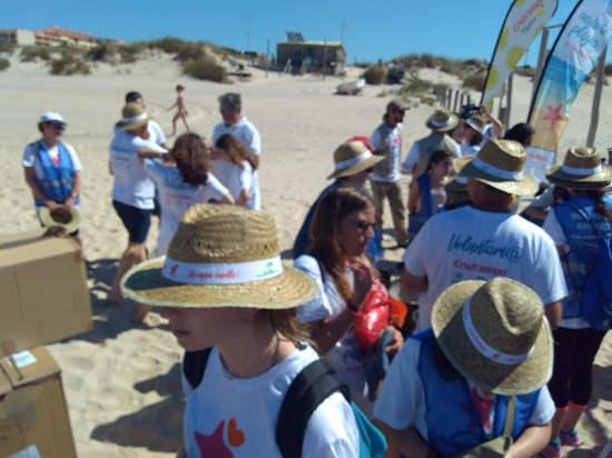 Voluntarios Medioambientales de SEOBirdlife y Asociación Parque Dnnar
