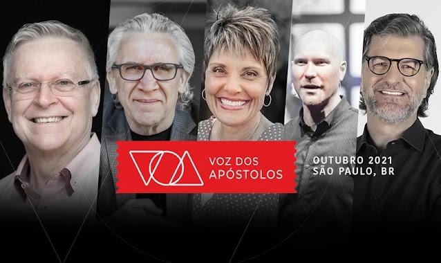 Voz dos Apóstolos acontece pela primeira vez no Brasil com Bill Johnson