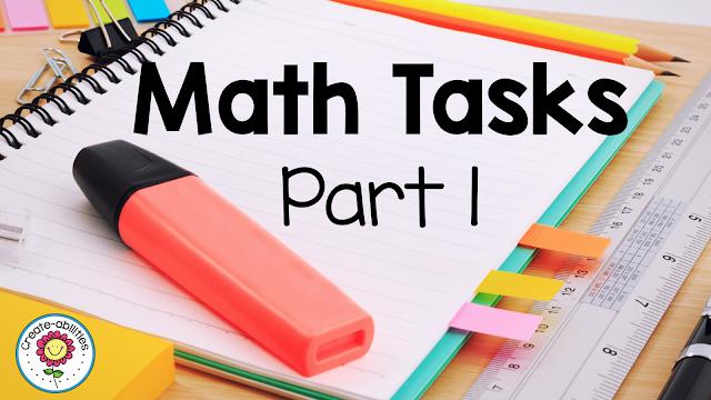 Math Tasks Explanations Part 1