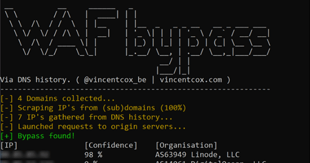 Bypass Firewalls By DNS History - Hackers Online Club (HOC)
