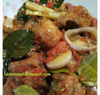 Ayam Masak Sambal Tomyam