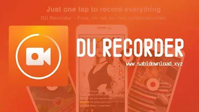 DU Recorder v2.1.5.1 Premium Mod Apk Terbaru