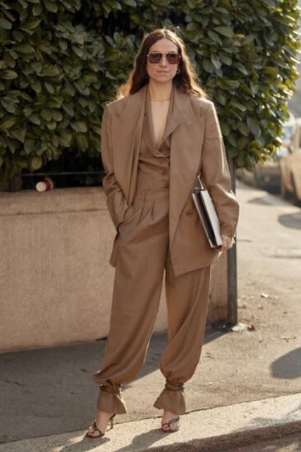 Стильный образ модные брюки 2-3