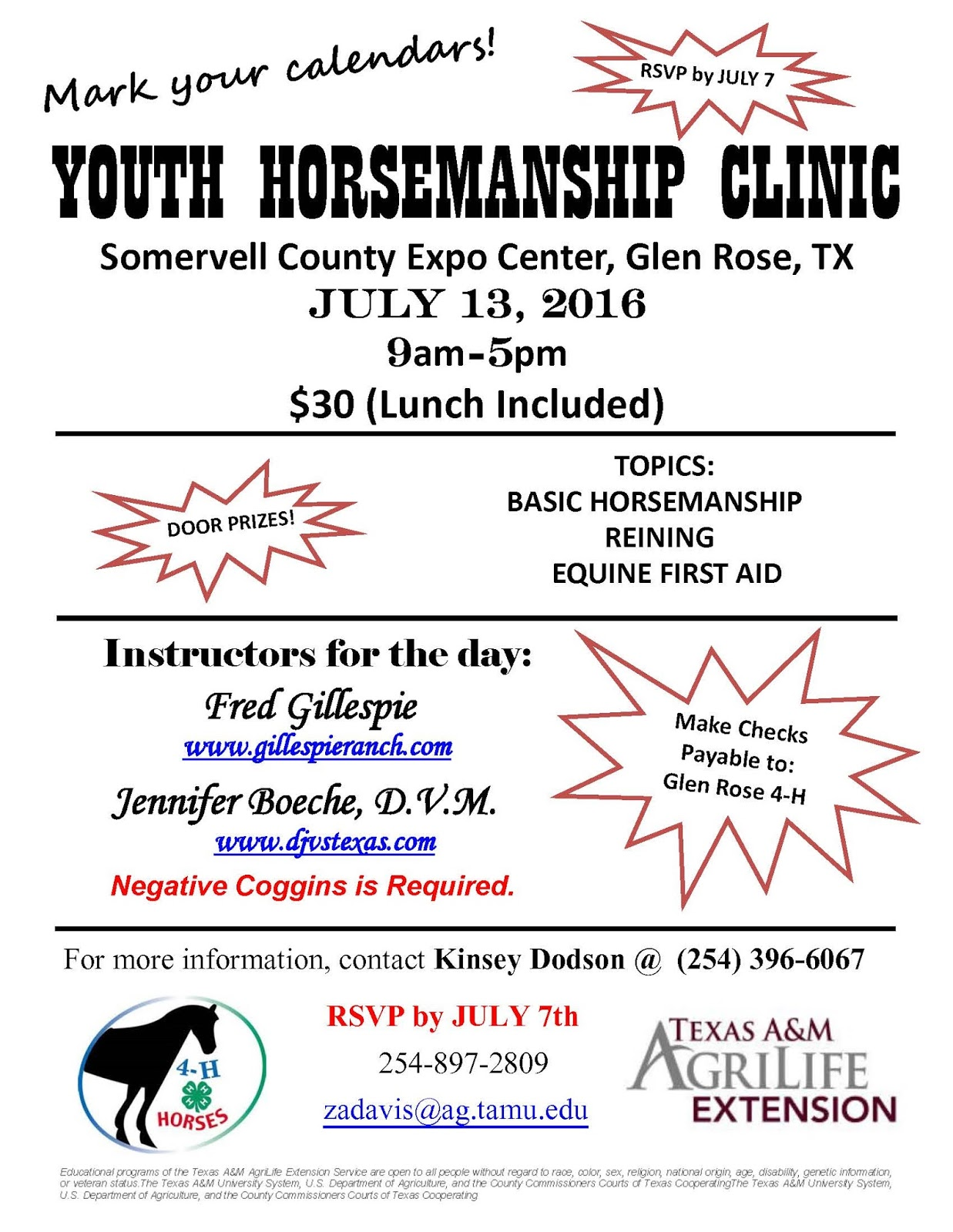 Travis County 4-H: Horsemanship Clinic