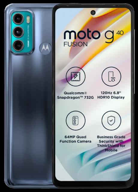 Motorola Moto G40 Fusion Specifications