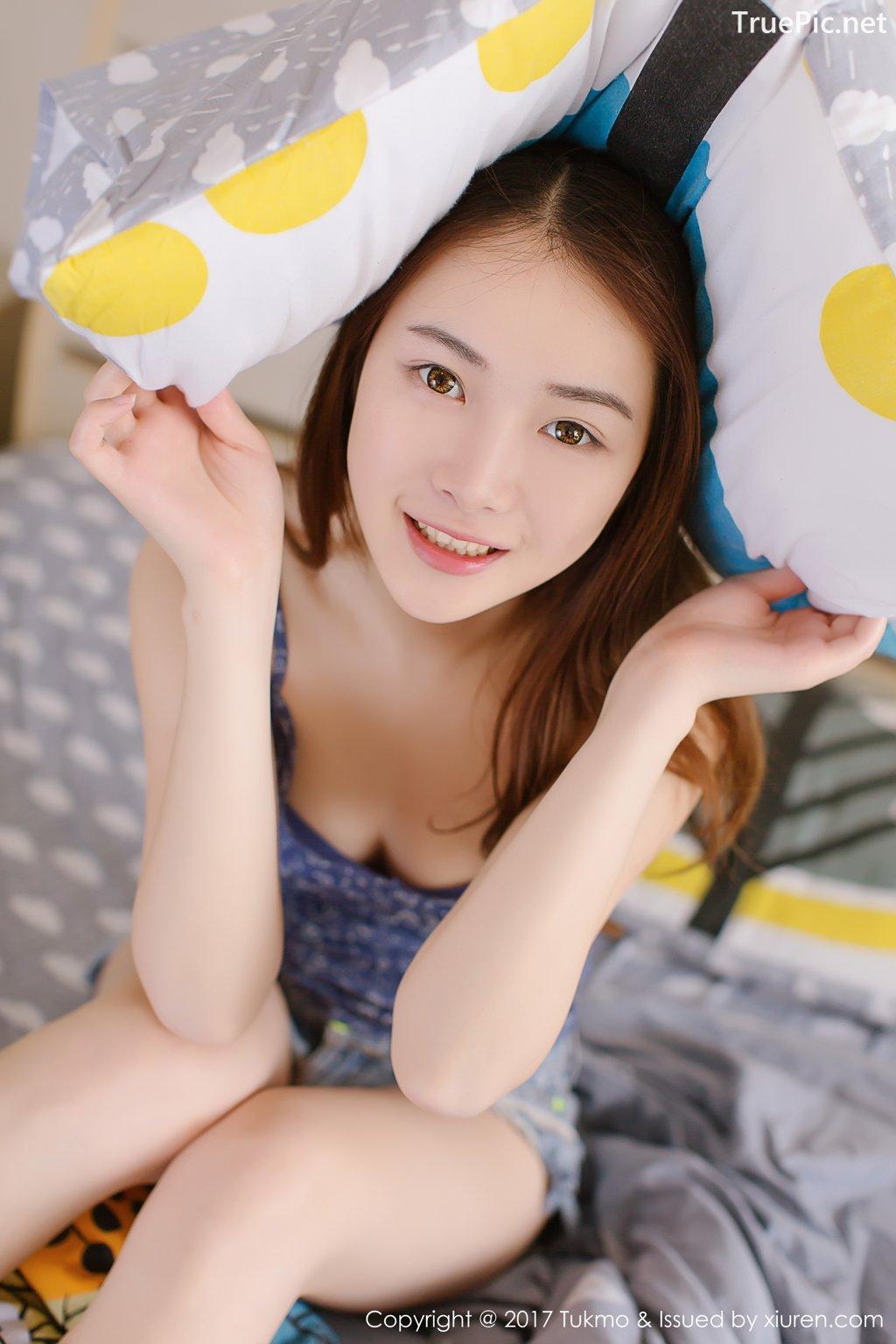 Image-Tukmo-Vol-096-Model-Mian-Mian-绵绵-Cute-Cherry-Girl-TruePic.net- Picture-2