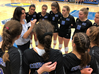 ICC Volleyball ushers in the Tracy Heffren Era with a Win, Metamora Herald