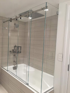 Serenity Sliding Door System for Bath