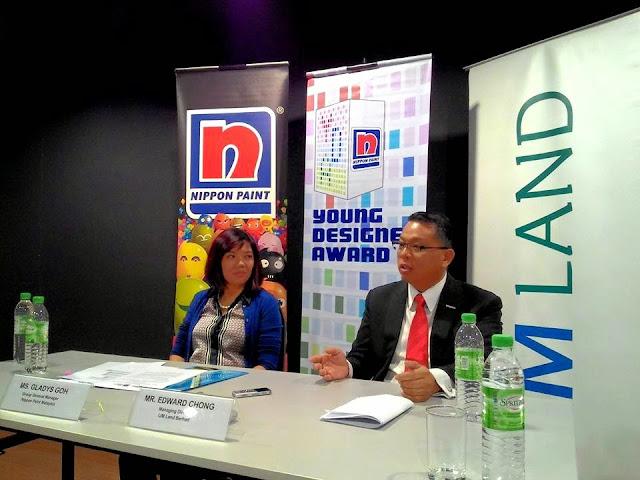Sesi media Anugerah Pereka Muda Asia Nippon Paint Ke-8