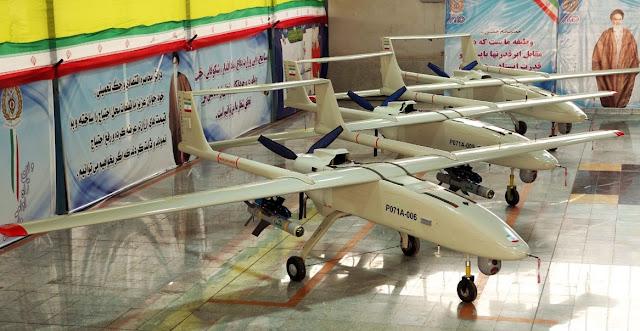 الطائرة بلا طيار الايرانية الدرون UAV  Iranian Drones  الطائرة بلا طيار مهاجر-6 / Mohajer-6