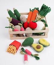 Comidas De Crochê - Lindas Inspirações Para Seu Faça Você Mesmo