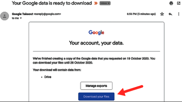 كيفية تصدير ملفات Google Drive الخاصة بك