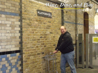 The Platform  9 ¾ at Kings Cross Station in London for Harry Potter fans