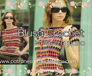 Blusa a crochet para primavera-otoño | Paso a paso